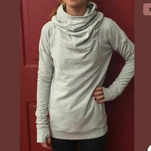 Lululemon Stress Less Hoodie Pullover High Neck 8